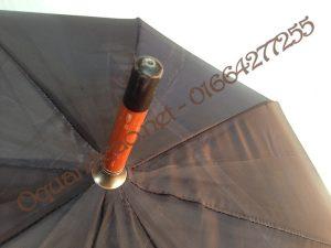 ô cán thẳng tay cầm gỗ R60 ảnh 4